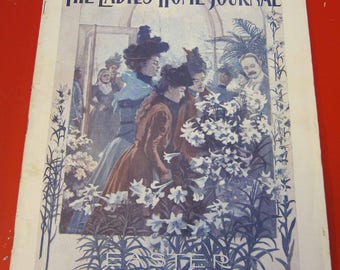 Magazine, Antique, Vintage, Fashions, Ads and Lots More: 1898, The Ladies Home Journal
