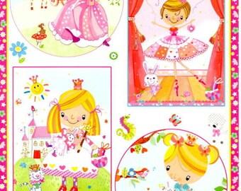 100 - Sheet image cutting Princess romantic dancer
