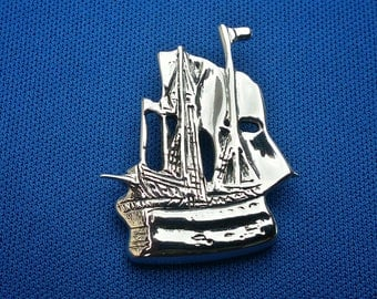 Pirate Ship Pendant