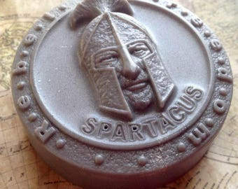 Spartacus Soap, Gladiator Soap,  Roman Soldier, Bath Soap, Gift Soap, Novelty Soap, You pick scent & color