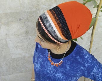 Non Wrap handmade Tichel,Sinar tichel,Mitpachat,head covering,tichel apron, jewish head covering,Just tie in the back by oshrataDesignz