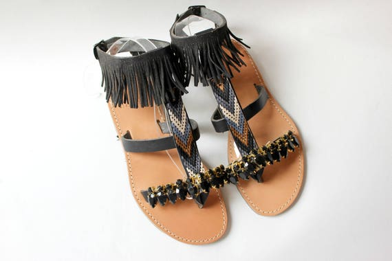 SALE!size 39 -US 8-8.5 Greek sandals, leather sandals  sandales grecques chaussures grecques
