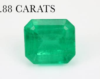1.88cts Loose Colombian Emerald, Loose Columbian Emerald, Natural Emerald, Green Emerald, Green Beryl, Loose Beryl, Genuine Emerald