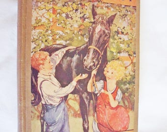 Black Beauty the Autobiography of a Horse by Anna Sewell 1924 Illustrated