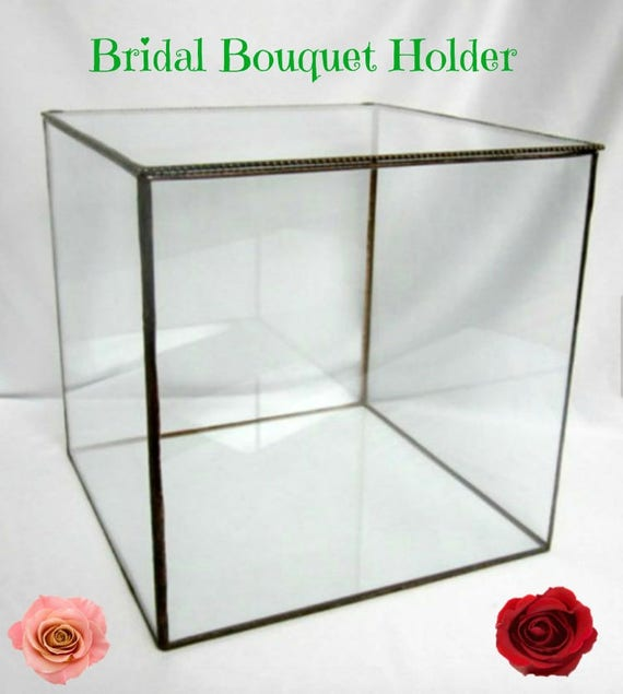 Large Display Case Bridal Bouquet Display Box Collection