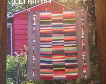 Strips and Selvages, A Quilt Pattern by Jennifer Sampou