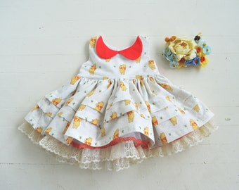 Winnie-the-Pooh Dress with Petticoat