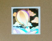 Decal Specialties Holographic Hot Air Balloon Sticker