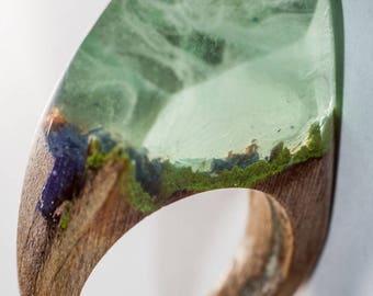 003 Resin wood ring
