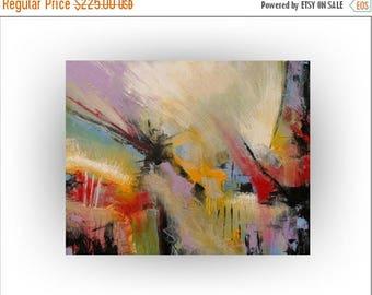 ON SALE Abstract art Acrylic Original painting Wall decor - 24 x 30-Art - Skye Taylor