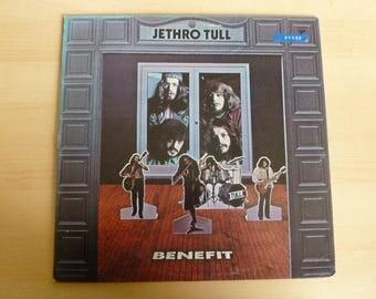 Jethro Tull Benefit Vinyl Record LP RS 6400 Reprise Records 1970