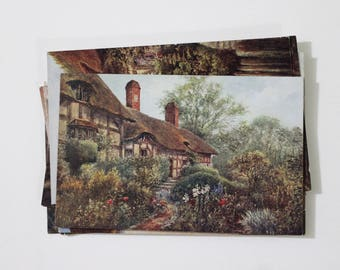 10 Vintage Stratford Upon Avon England Unused Postcards - Wedding Guestbook