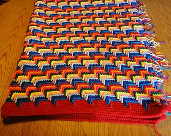 Apache Tears Crocheted Blanket