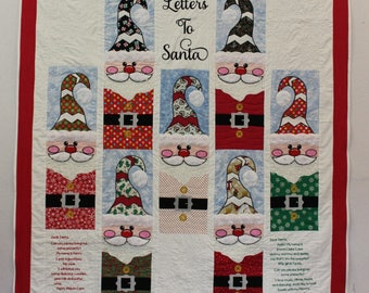Letters to Santa Quilt