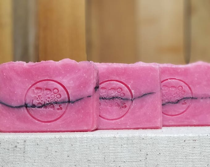 "Black Orchid Scented ""Lady Macbeth"" Soap Goddess Loves Shakespeare Soap, handmade vegetarian, lightly scented, yogurt soap, free shipping"