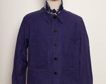 French Work Jacket indigo 1970