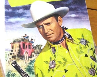 Gene Autry Comics (1946-1959 Dell) COVER February 10 Cents