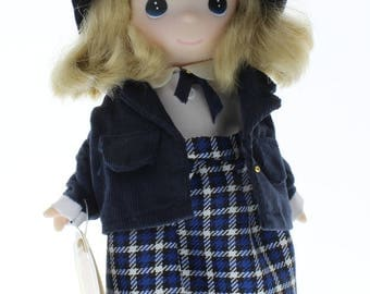 "Children of the World Precious Moments Doll 9"" Catherine England"