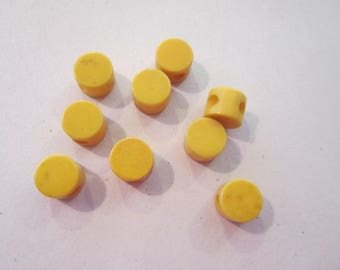 bakelite buttons tiny antique buttons nine total