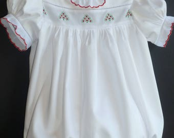 Size 2 Girls Holiday Bubble - Ready-To-Ship