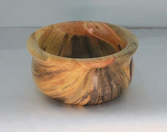 Wooden bowl, hand turned bowl, home decor, couples gift, small wood bowl
