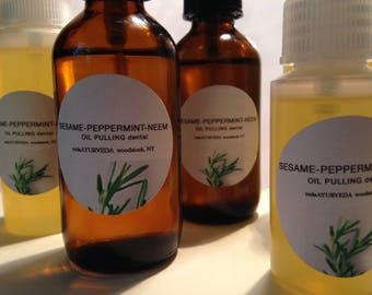 Nasya (nasal) ayurvedic oil