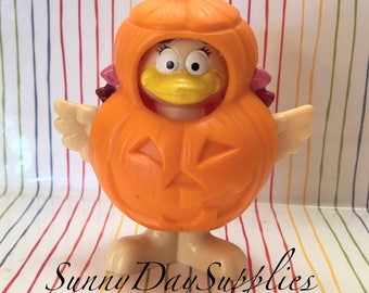 McDonald's Happy Meal Halloween Toy, Birdie The Pumpkin, Halloween Costume, Food toys, 1995, Mcdonalds Gifts For Kids, Halloween Pumpkin