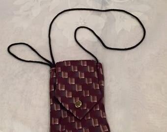 Necktie Cell Phone Pouch
