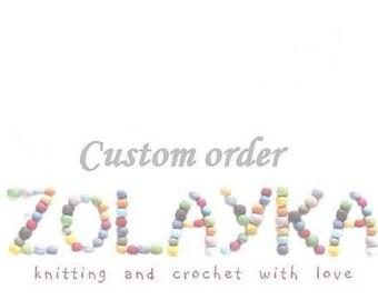 Custom order for Meighan Hawks