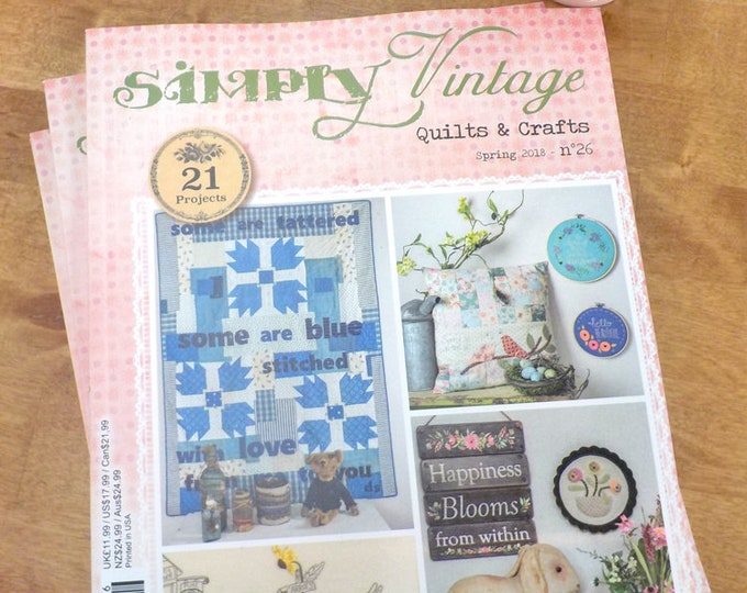 Simply Vintage by Quilt Mania spring 2018 issue