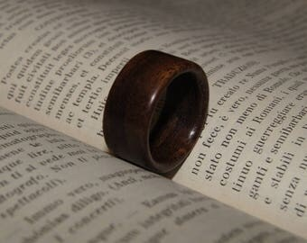 Rosewood ring - Size 9 - ready made ring