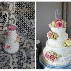 Wedding Cake Replica Made To Order Mini Cake Ornament Cake