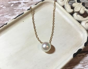 Pearl Necklace | Free Shipping | Bridesmaid Gifts
