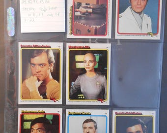 Star Trek 1979 The Motion Picture Paramount Trading Cards