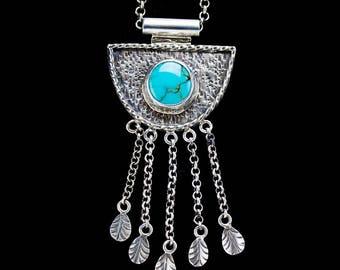 Jazz Night - Turquoise Necklace