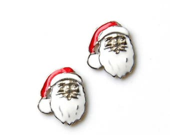 Limited Time Offer Santa Cufflinks - Gifts for Men - Anniversary Gift - Handmade - Gift Box Included