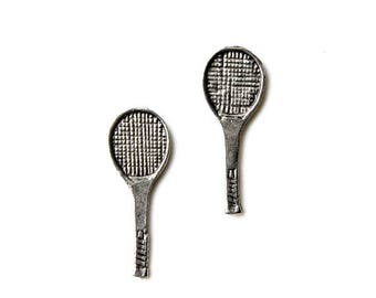 Limited Time Offer Tennis Cufflinks - Gifts for Men - Anniversary Gift - Handmade - Gift Box Included