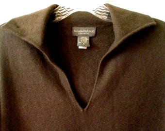 Banana Republic Cashmere V Neck Sweater S