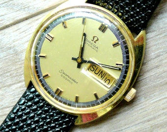 Omega Seamaster Cosmic Automatic vintage men's watch, c. 1969 Omega Seamaster Cosmic watch, vintage men's watch, collectable Omega watch