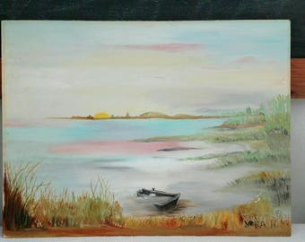 Sunset Seascape Painting