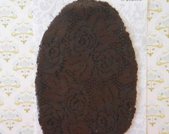 Patches Strech Lace Brown Set of 2