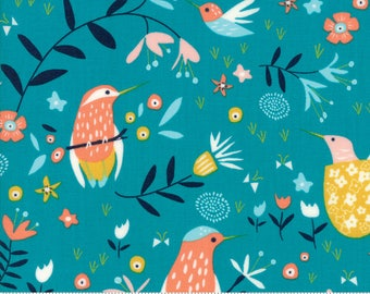 Wild Nectar cotton fabric by Crystal Manning for Moda Fabrics 11801 16