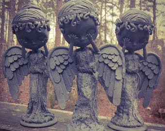Blythe x Weeping Angel