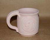 Glazed To Order 16 oz Nubian Medallion Mug Barrel Shape