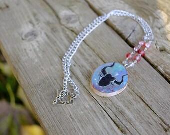 Taurus Astrology necklace-zodiac jewelry-wood jewelry