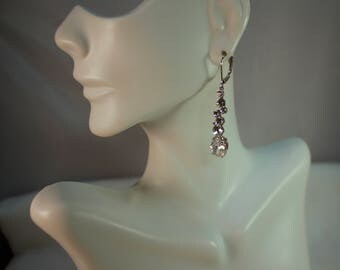 Givenchy Crystal Dangle Earrings