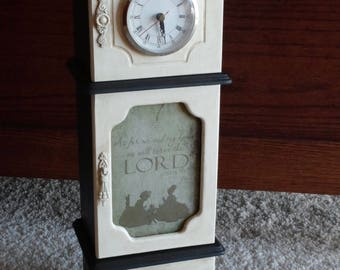 Jewelry Box - Clock  As For Me and My House