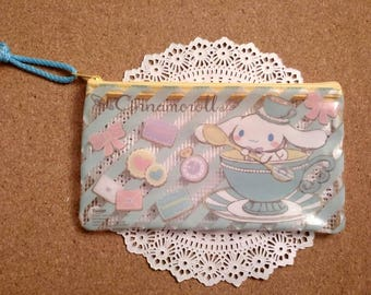 Cinnamoroll cosmetic bag,pencil bag, zipper pouch sanrio,pencil case