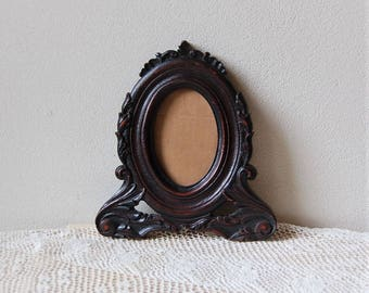Vintage Carved Oval Frame