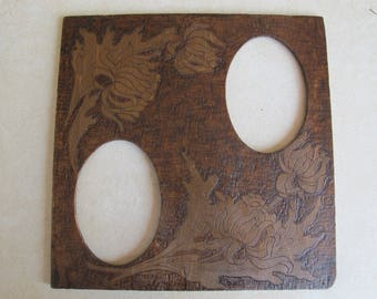 Double Oval Frame Etsy